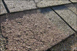 Repairing sections of cracked or blistered shingles
